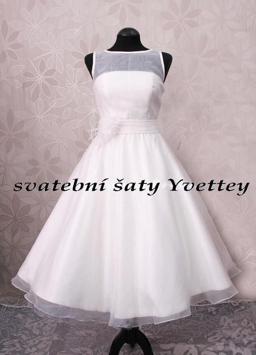 5c9dd27ca8a2 Retro krátké svatební šaty 50´s 60´s - šité na míru zákaznice ...