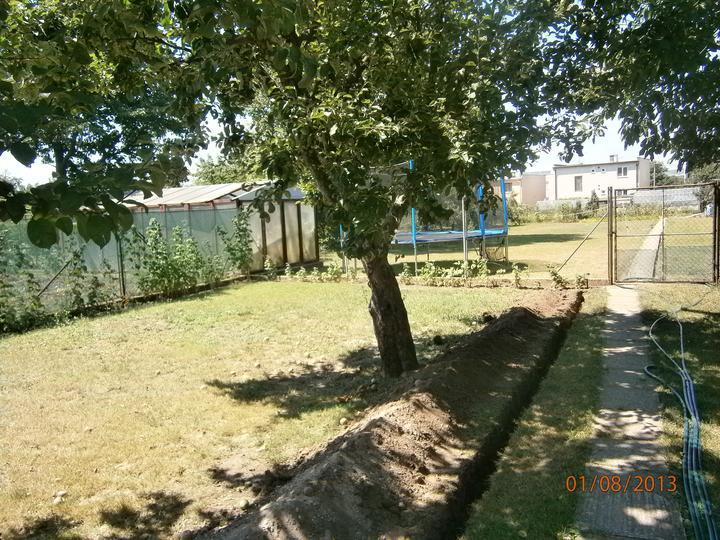 Záhrada pre oddych - Stav pre úpravou pozemku