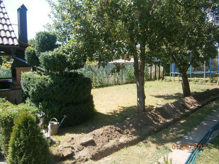 Záhrada pre oddych - Stav pred úpravou pozemku