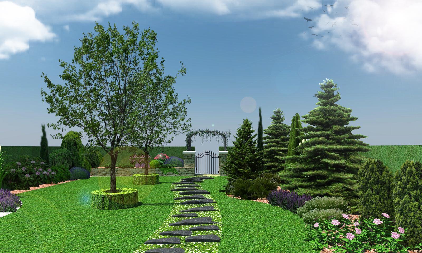 Záhrada pre oddych - Obrázok č. 5