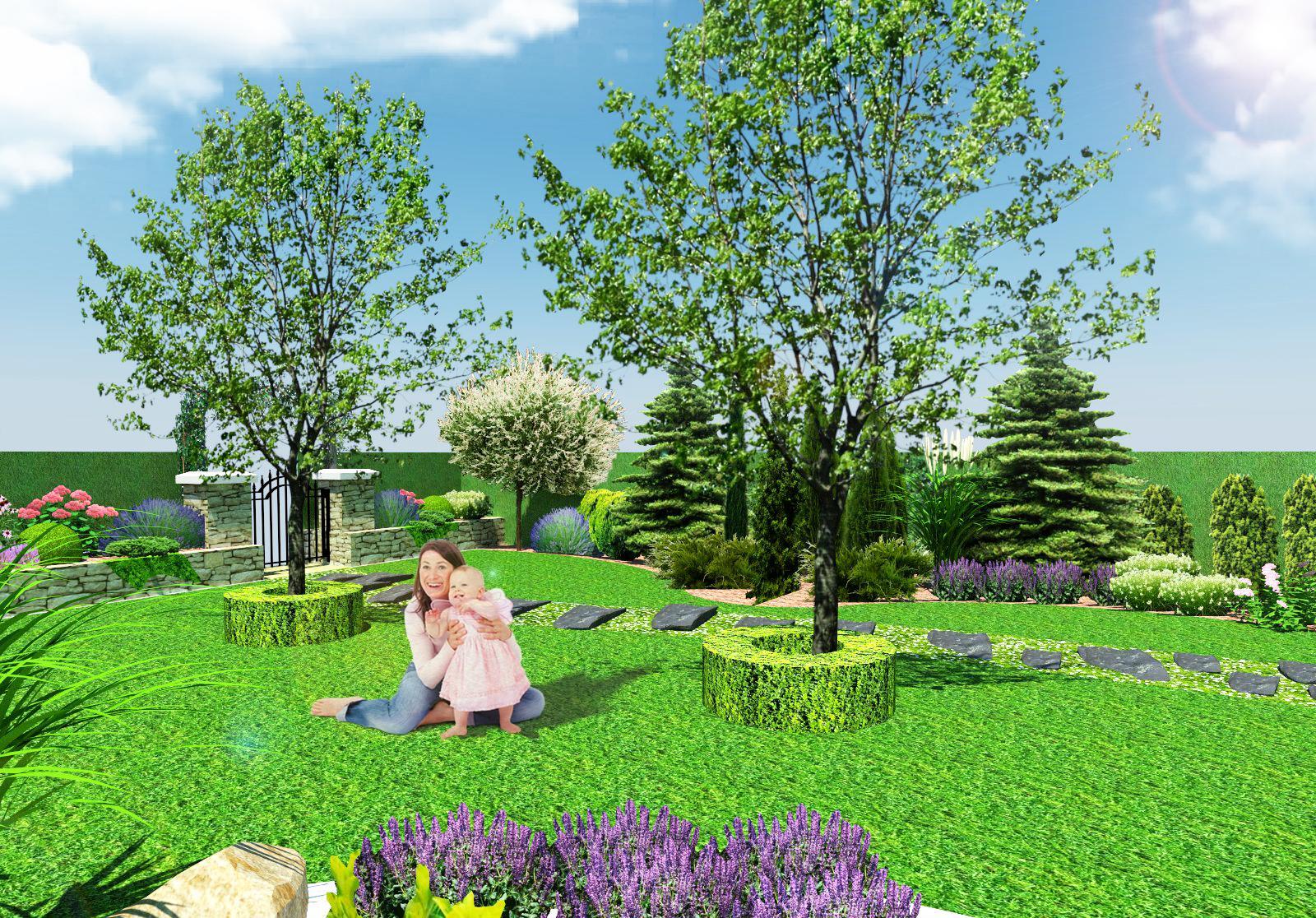 Záhrada pre oddych - Obrázok č. 6