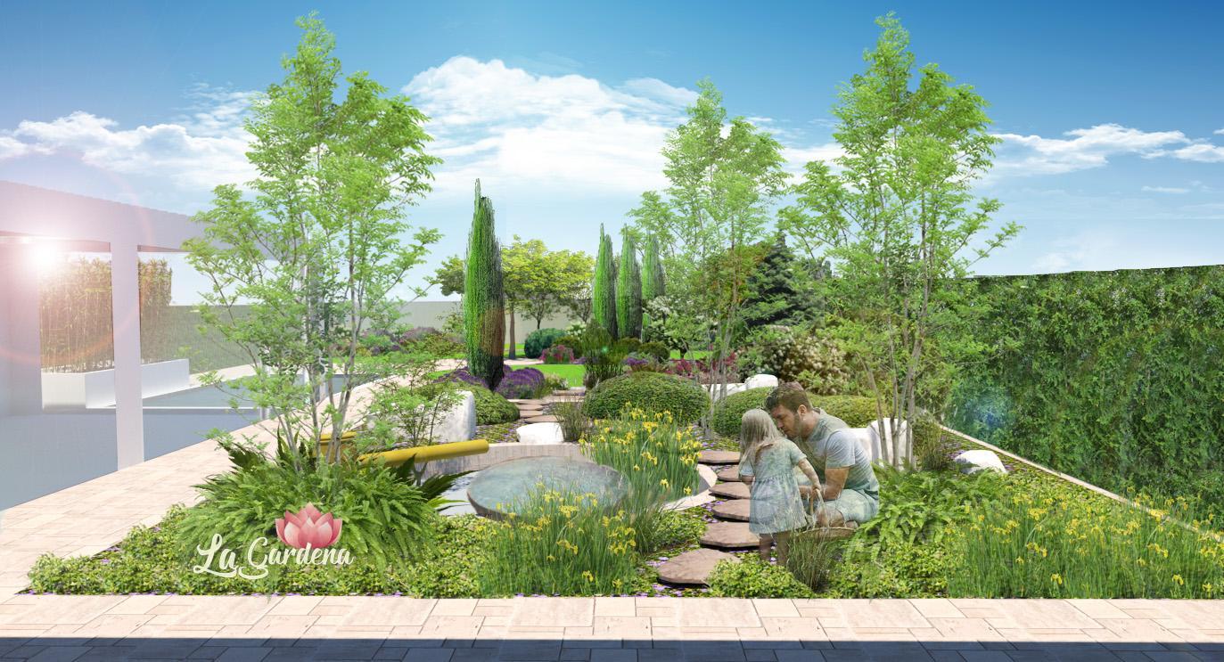Vizualizácia záhrad - Obrázok č. 143