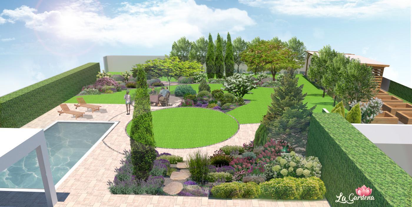 Vizualizácia záhrad - Obrázok č. 144
