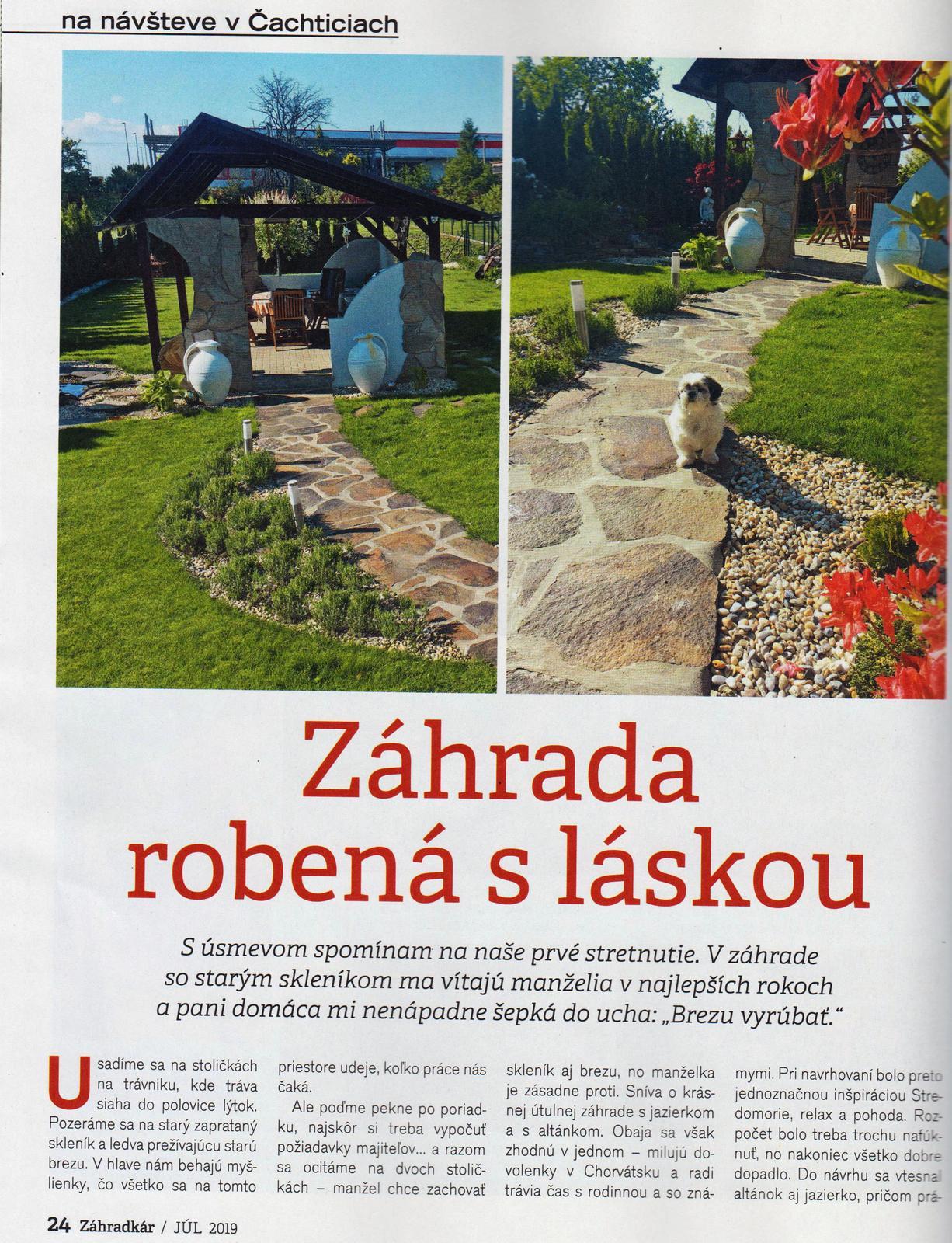 Záhrada s láskou robená - Obrázok č. 2