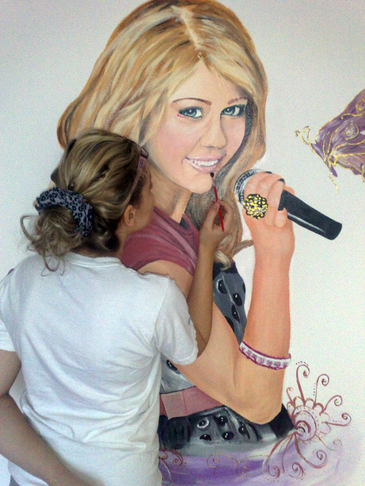 Maľba na stenu - interiér, exteriér - Obrázok č. 1