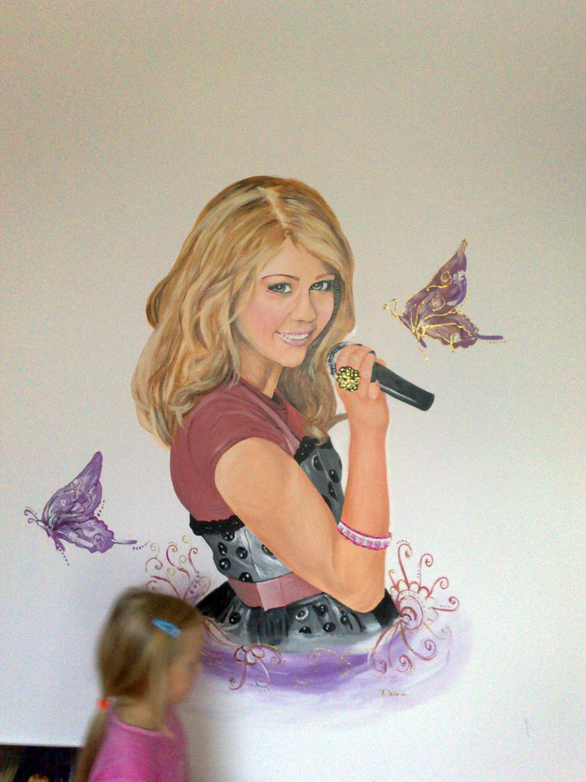 Maľba na stenu - interiér, exteriér - Obrázok č. 3