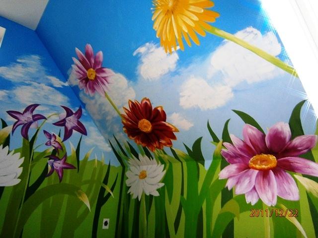 Maľba na stenu - interiér, exteriér - Obrázok č. 4