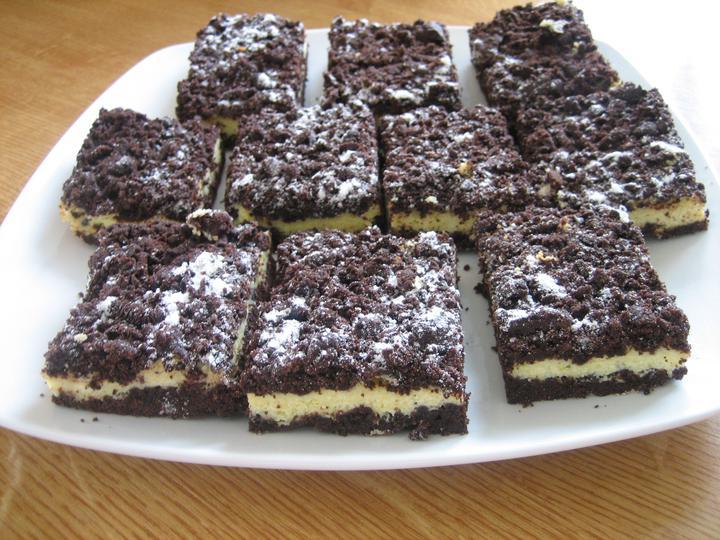 Už aj náš domček - včerajšia inšpirácia z MS :) Strúhaný tvarohový koláčik