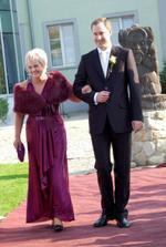Ženích s maminou
