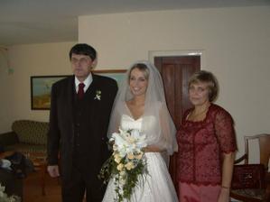 S maminou a tatinom ešte za slobodna.