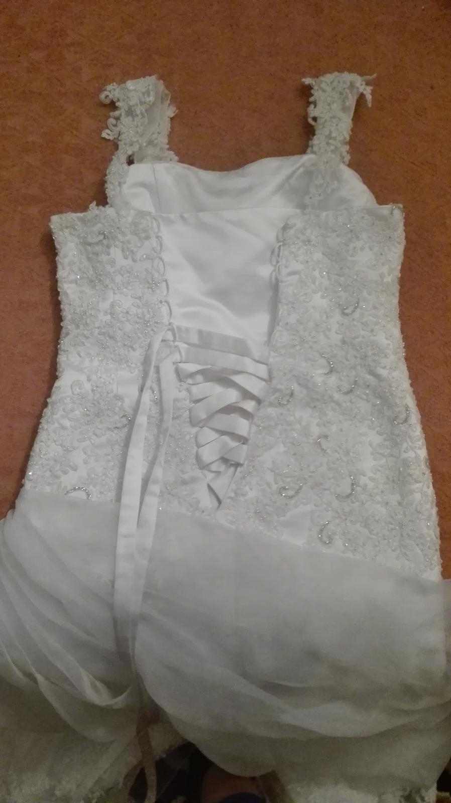 Svadobné šaty 38-42 - Obrázok č. 3