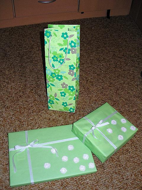 Koupě, výroba - dárečky pro babičky a tátu