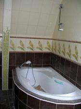 sprcha namontována