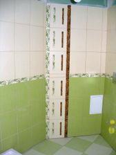 malá koupelnička naše-dekor u WC