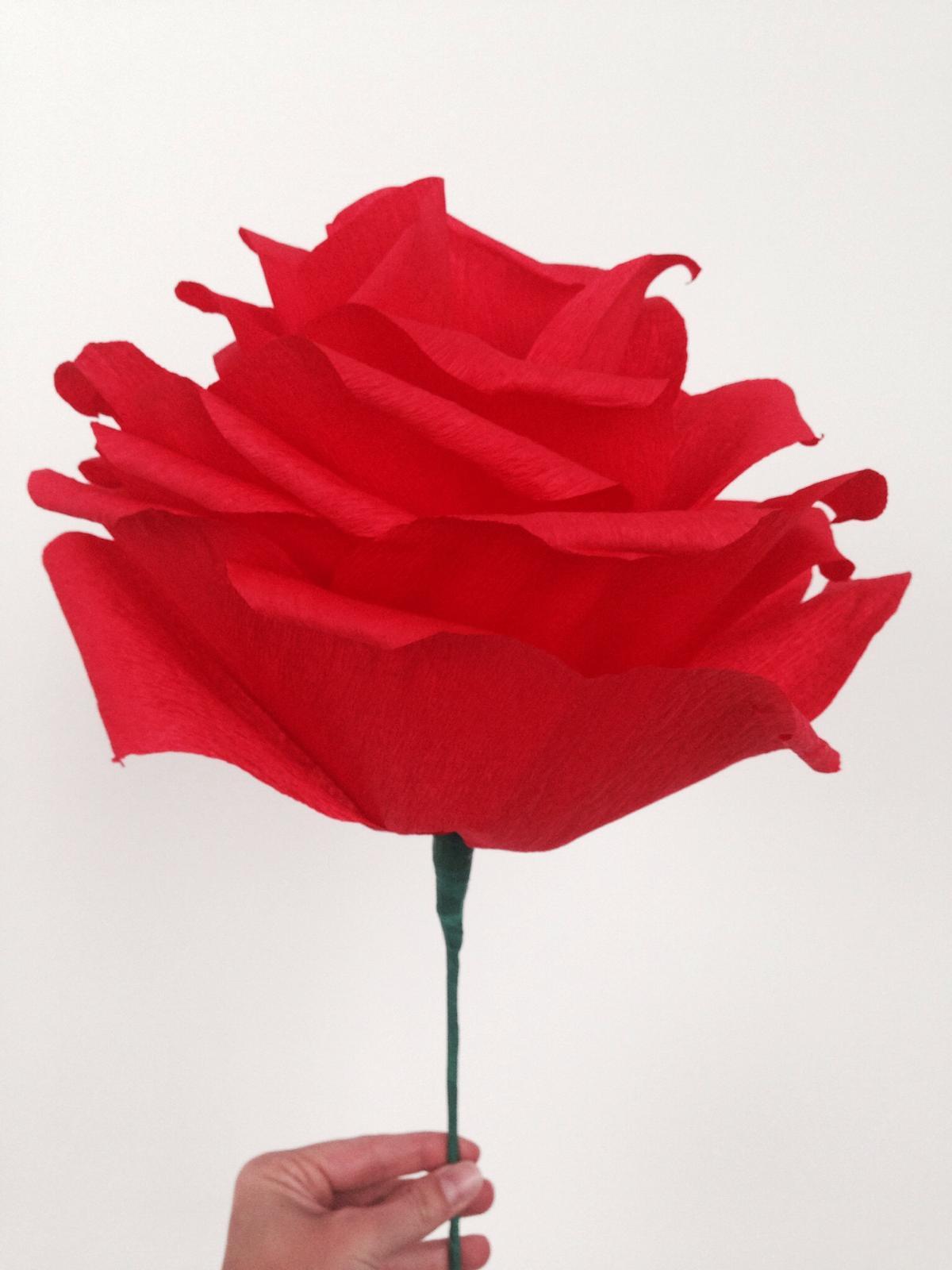 DIY paper flower - Obrázok č. 1
