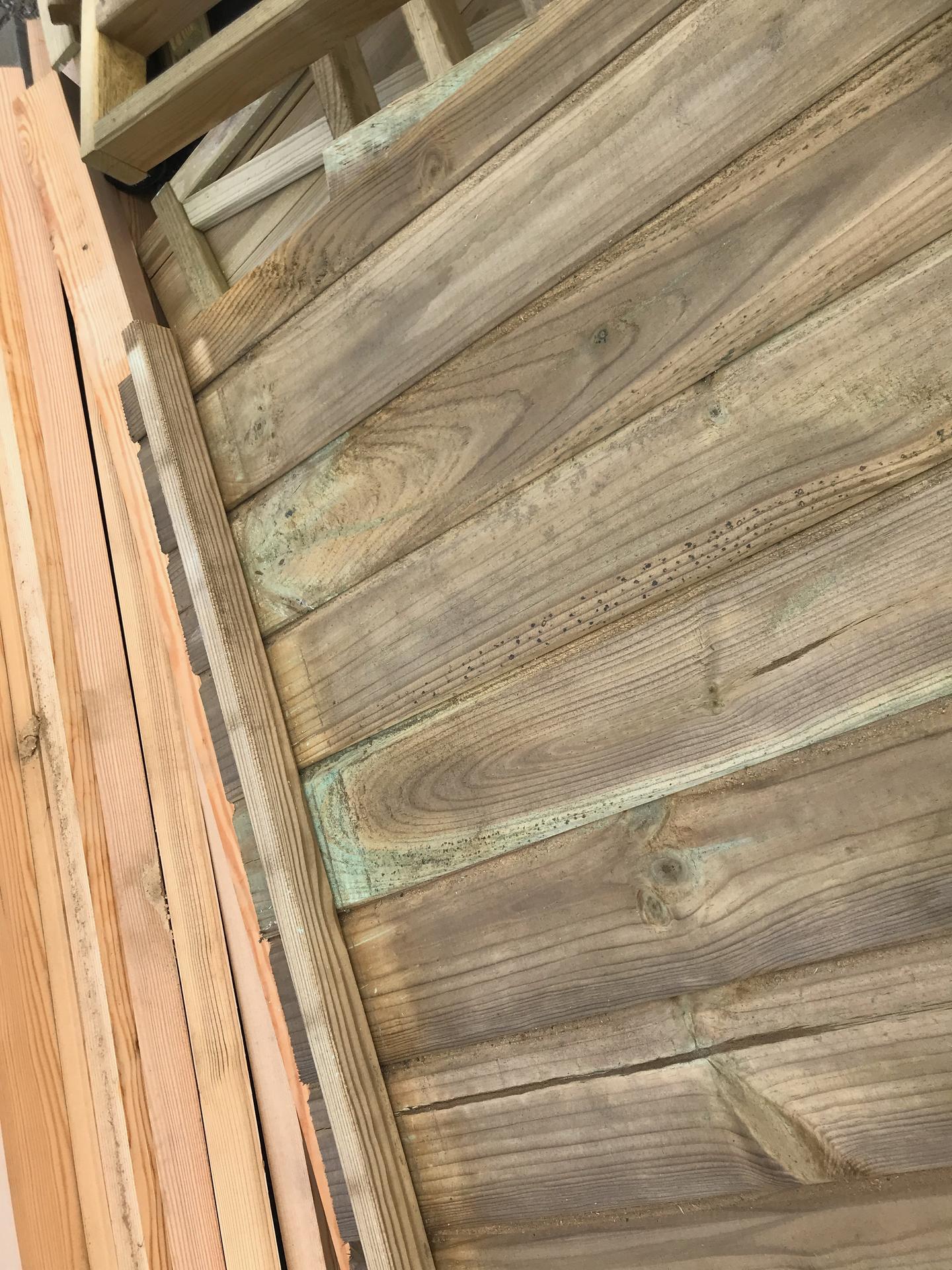 Prosím o radu, je dřevo na fotkách napadené plísní? Jde mi o případné ošetření, děkuji - Obrázek č. 2