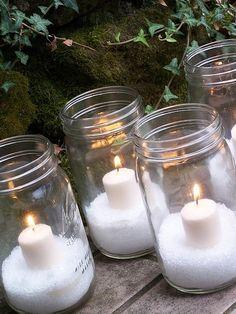 Dreaming of a white Christmas - Jednoduché, levné a efektní