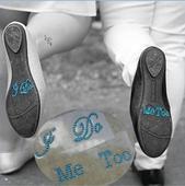 Kamienkové nálepky na topánky,