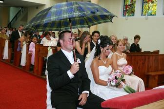 Asi sa čudujete, o čo ide... Náš kňaz mal naozaj krásnu kázeň ! Hlavne bola venovaná najmä nám.