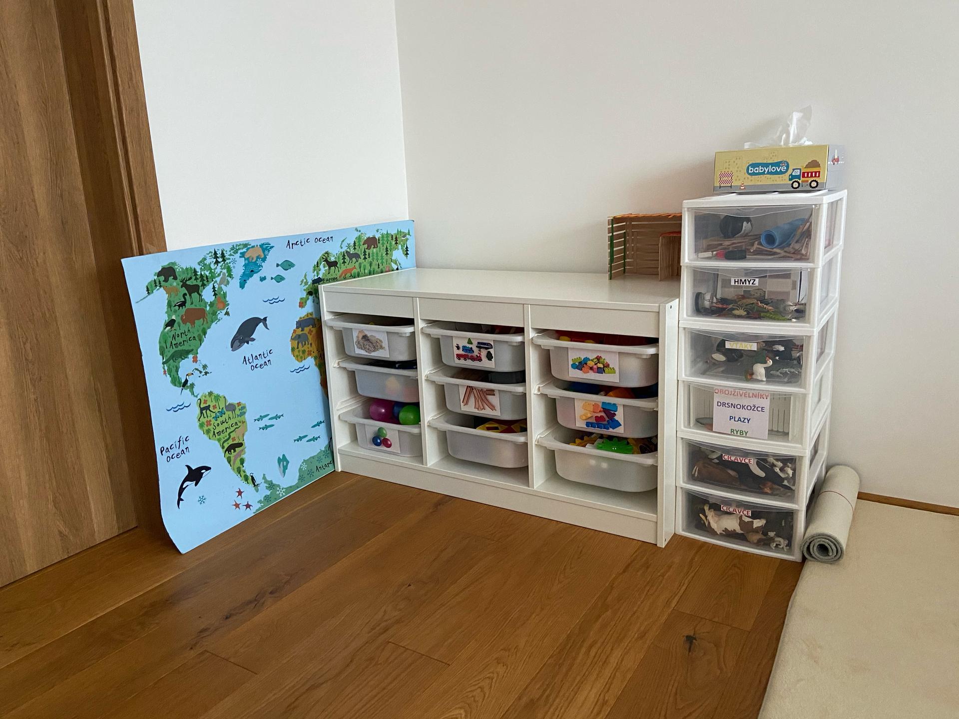 Ako sa náš dom prispôsobil deťom, alebo montessori u nás doma - Obrázok č. 2
