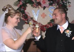 prípitok ženícha a nevesty