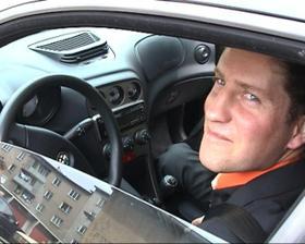 vodič svadobného auta