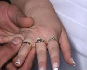 prijatie prsteňa od ženícha