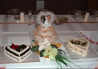 naša svadba v krásnej sále