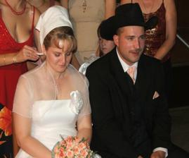z nevesty a ženícha sa stali muž a žena
