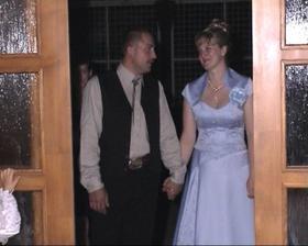 príchod mladomanželov