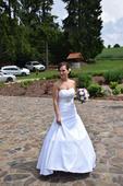 Svatební šaty velikost 36, 36
