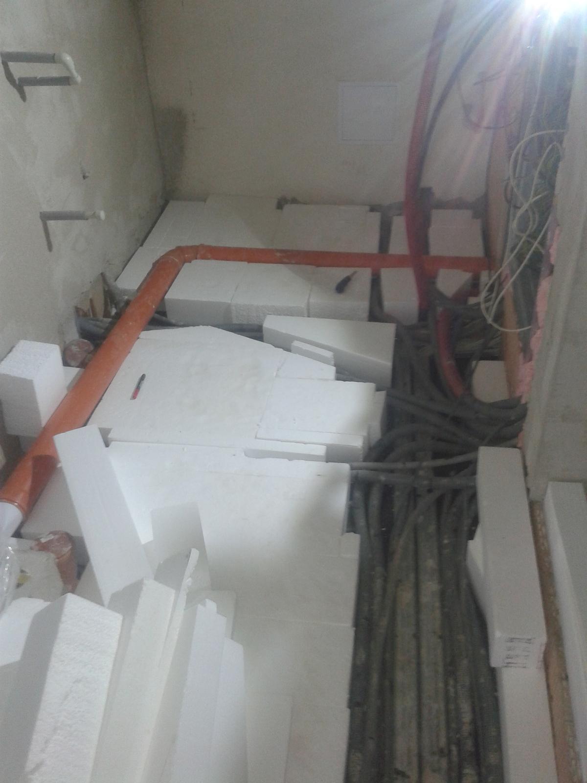 Dodělávky - skádačka podlaha, polystyren 2x 140 mm