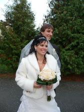 pár prvých mladomanželských fotiek