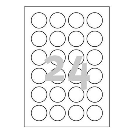 Kulaté etikety, průměr 4cm - Obrázek č. 3