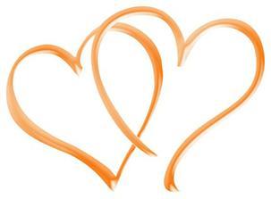Srdiečka, ktoré sme použili aj na značky a aj na svadobné oznámenia.