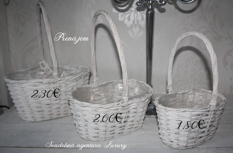 Košíky na prenájom rôznych veľkosti - Obrázok č. 1
