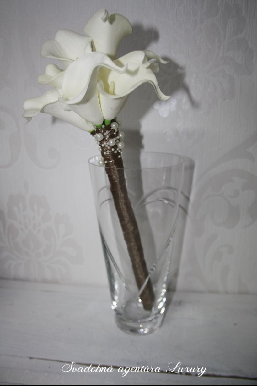 Váza na svadobnú kyticu  - Obrázok č. 1