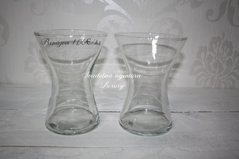 Váza priesvitná 19cm - Obrázok č. 1