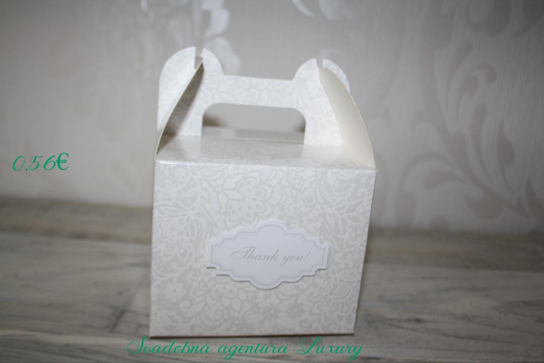 Box na zákusky - Obrázok č. 1