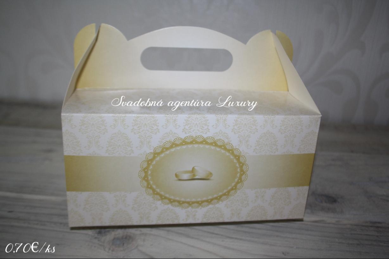 Krabica na zákusky &koláče - Obrázok č. 1