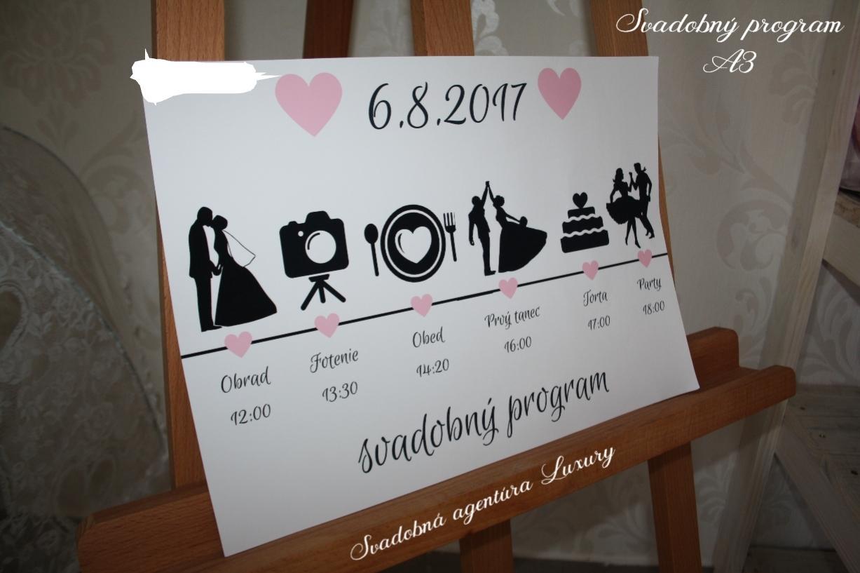 Svadobný program - Obrázok č. 1