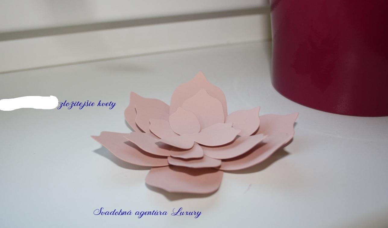 Papierové dekorácie  - Obrázok č. 2