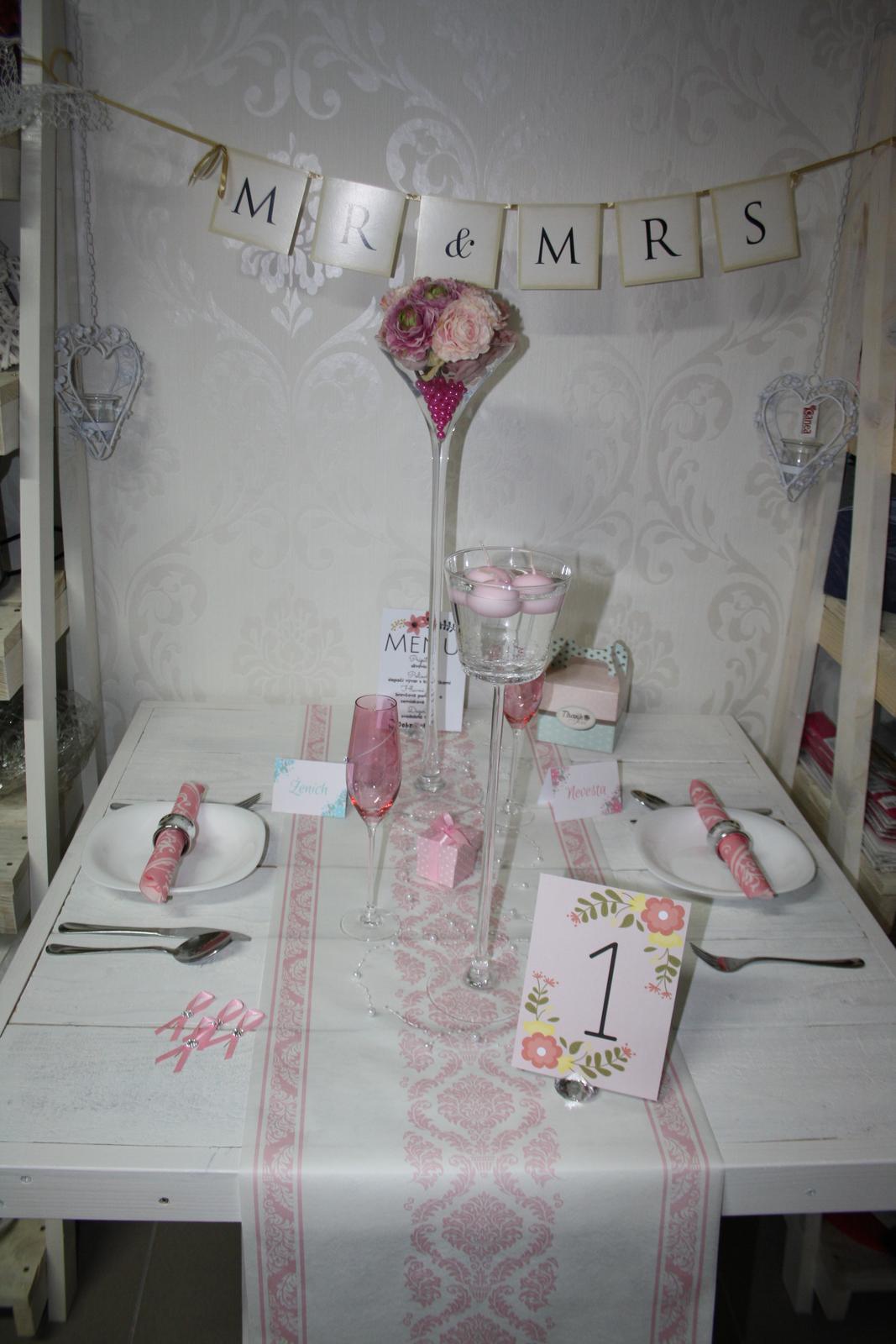 """Váza """"Martini"""" 60cm na prenájom - Obrázok č. 4"""