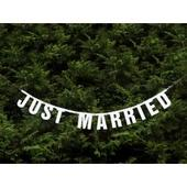 "Girlanda ""Just Married"" ,"