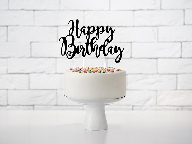 "Zápich ""Happy Birthday"" - Obrázok č. 1"