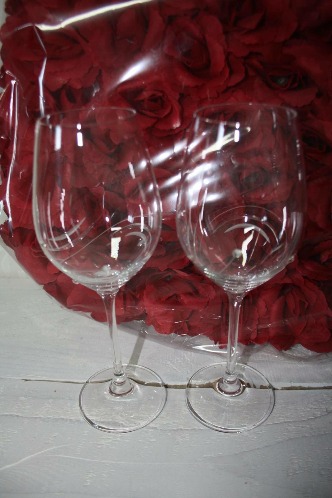 Svadobné poháre so Swarovski Elements - Obrázok č. 1