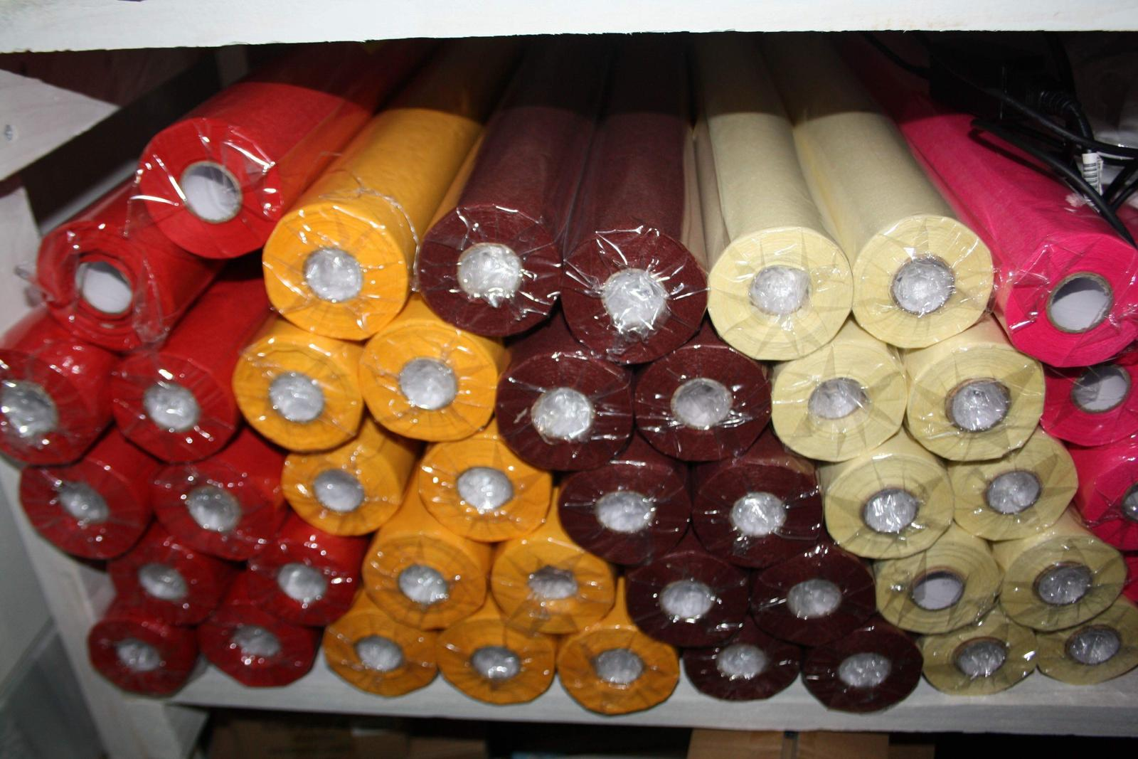 Organza vodeodolná rôzne farby  - Obrázok č. 1
