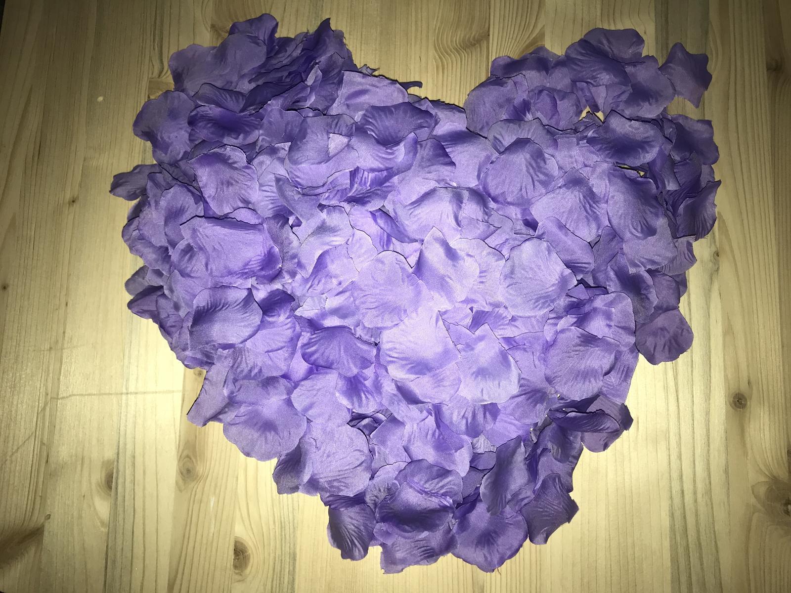 Lupene ruži 500ks   - Obrázok č. 3