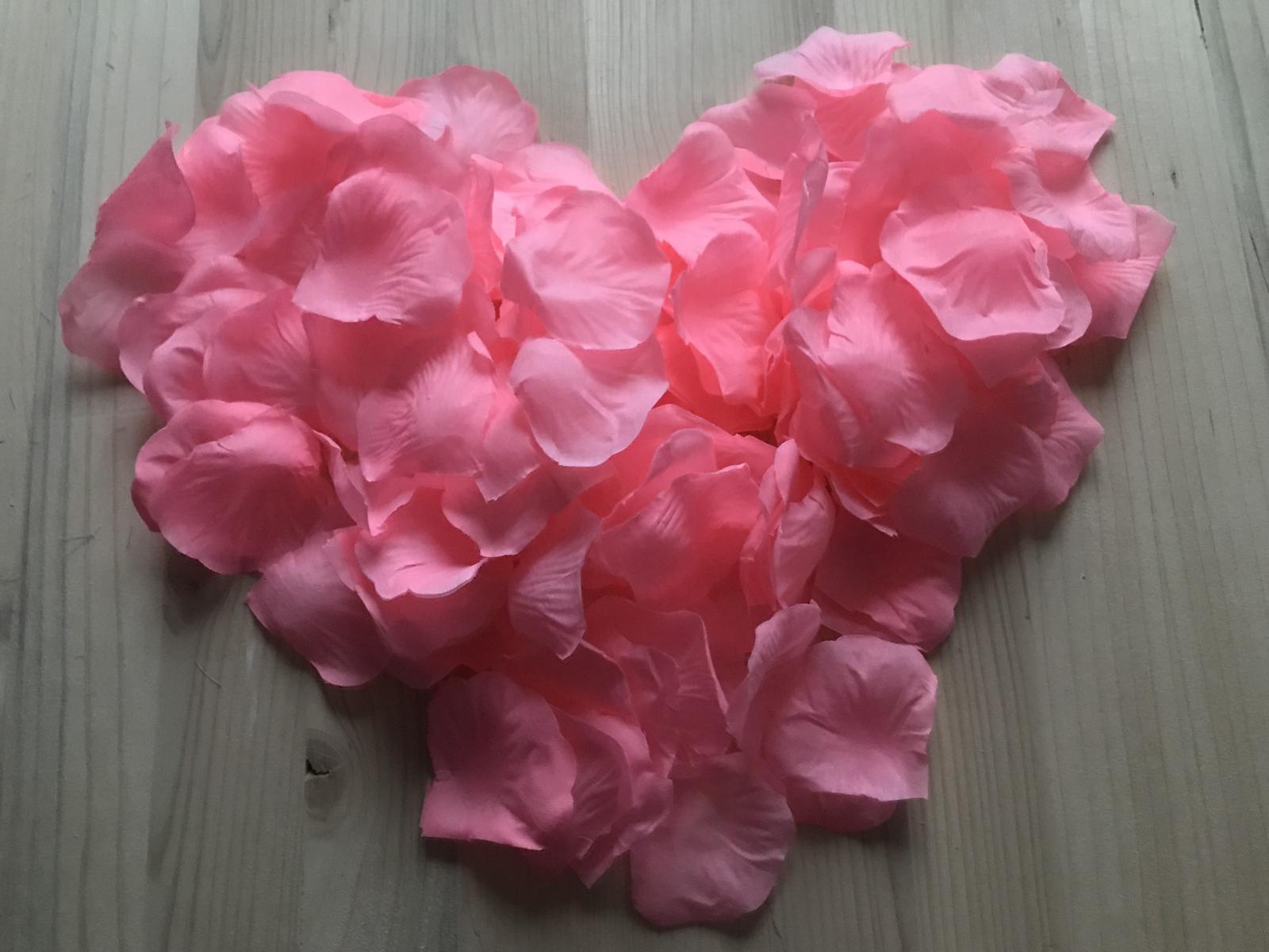 Lupene ruži 500ks - Obrázok č. 1