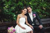 Svatební/popůlnoční/společenské krátké šaty, 36